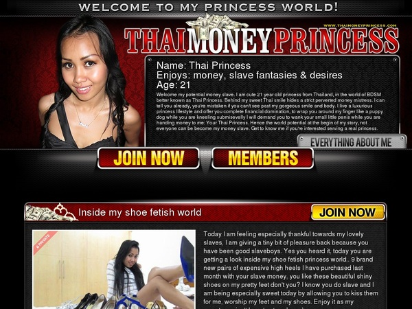 Princess Money Thai Free Accounts