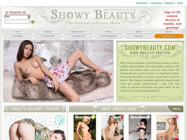 Showybeauty.com Accounts Passwords