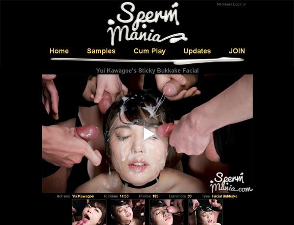 Sperm Mania Member Sign Up