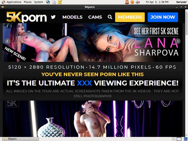 5kporn.com Discount Account
