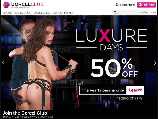 Get A Free Dorcelclub.com Password