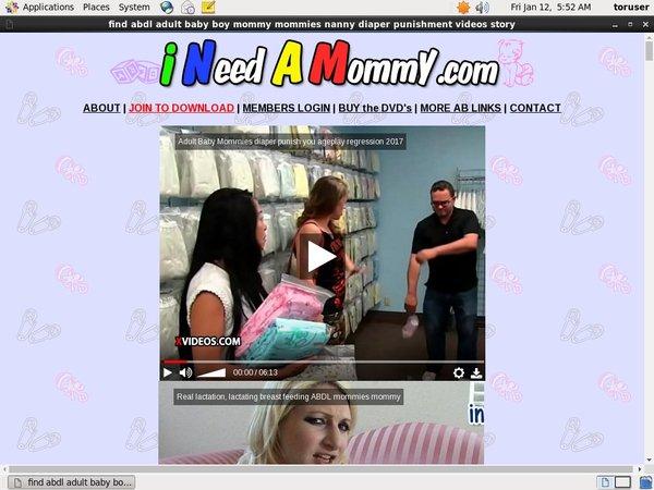 Get Ineedamommy.com Trial