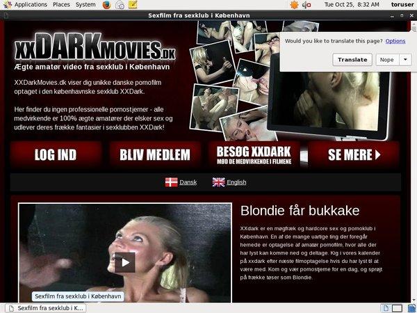 XX Dark Movies Dk Porn Pass