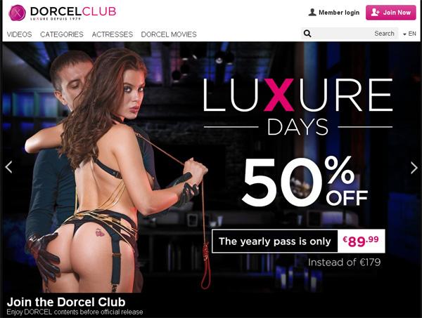 Logins Dorcelclub.com Free