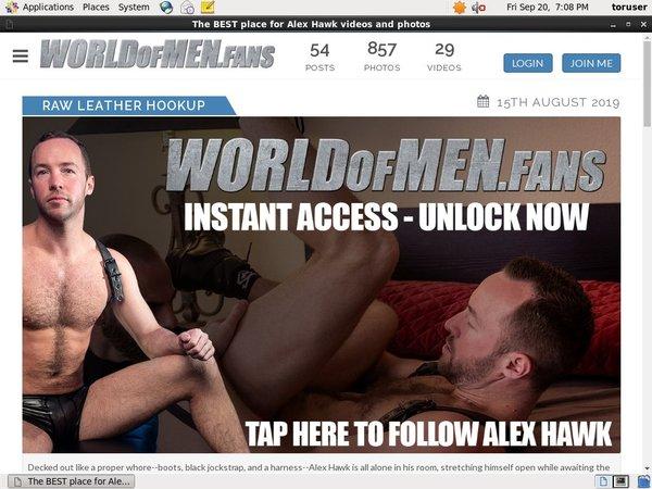 Log In Alexhawk.worldofmen.fans