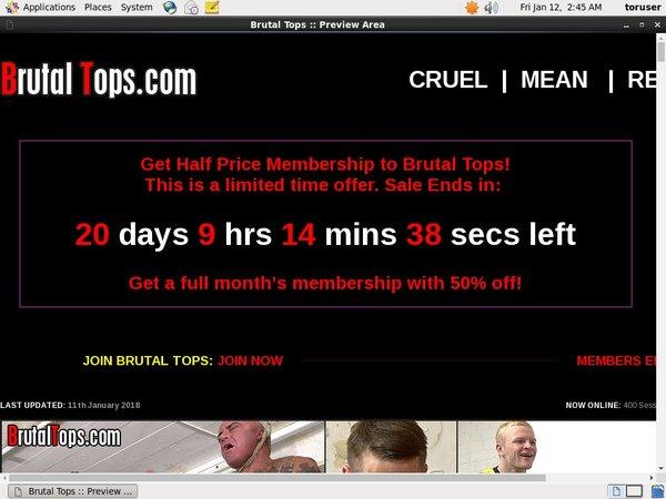 Brutal Tops Accounts Passwords