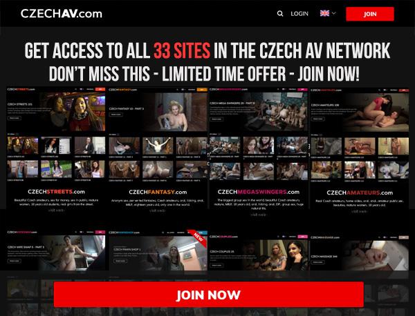 Czechav.com Sign Up Form