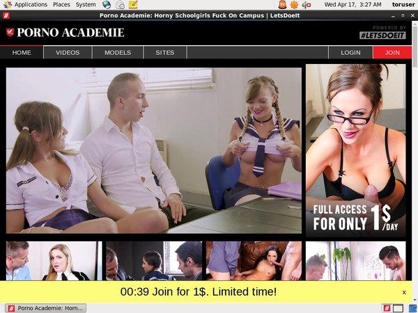 Porno Academie Mit Bankkarte