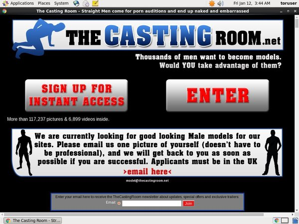 Thecastingroom.net Coupon Code